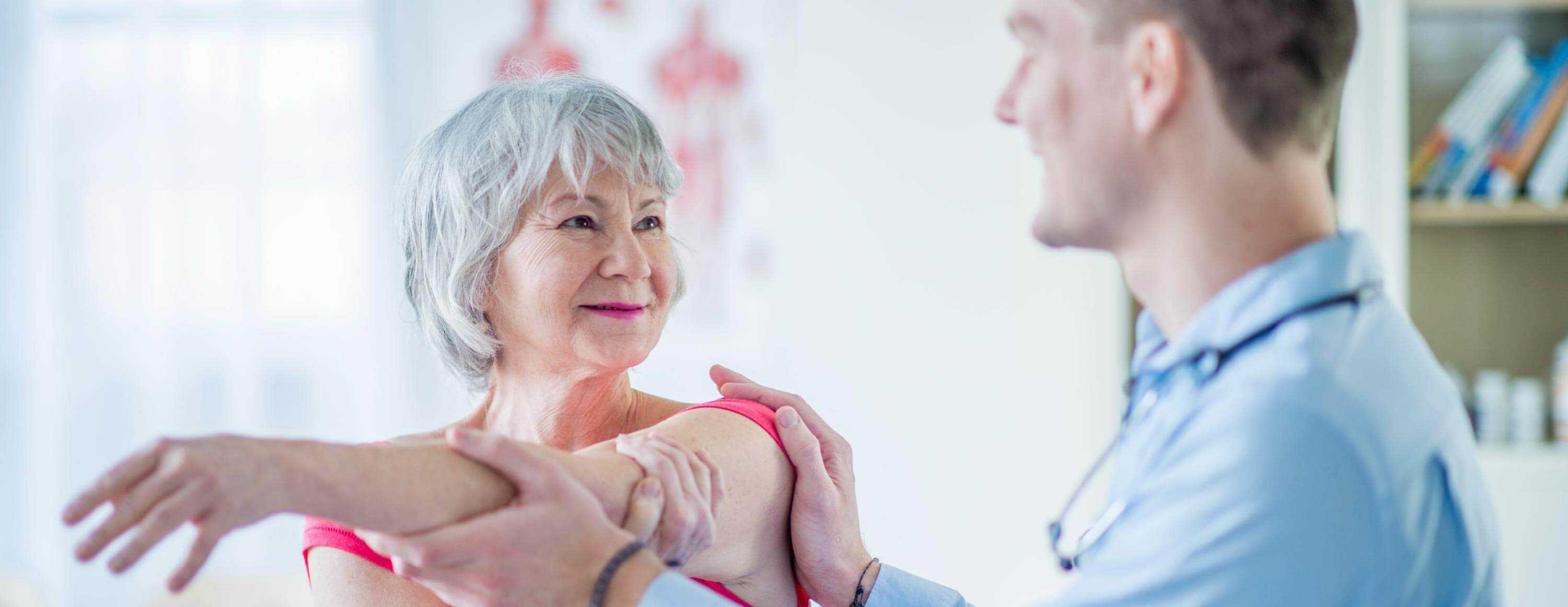 Onsite individual physiotherapy treatment for residents